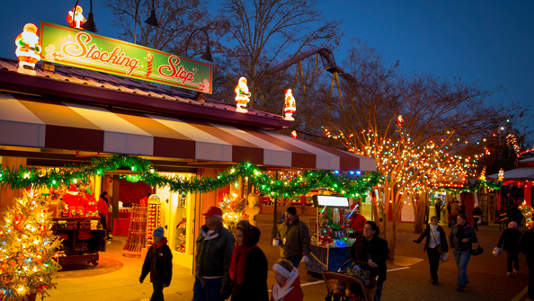Elite VIP Tour - Christmas Town 2013 | Busch Gardens Williamsburg