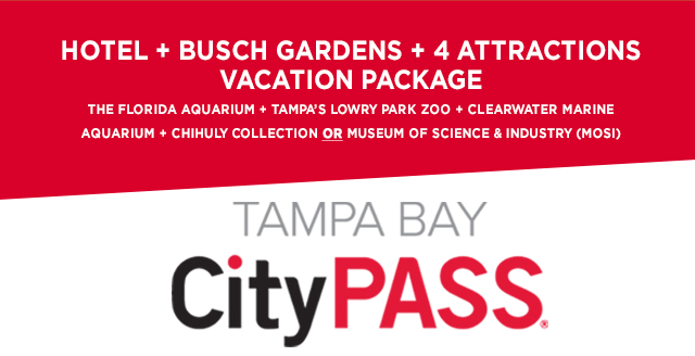 CityPASS Tampa Package Busch Gardens Tampa Bay