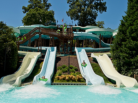 Jet Scream Water Rides Water Country USA