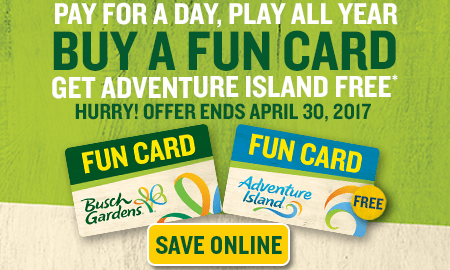 Busch Gardens Fun Card Blackout Dates Garden Ftempo