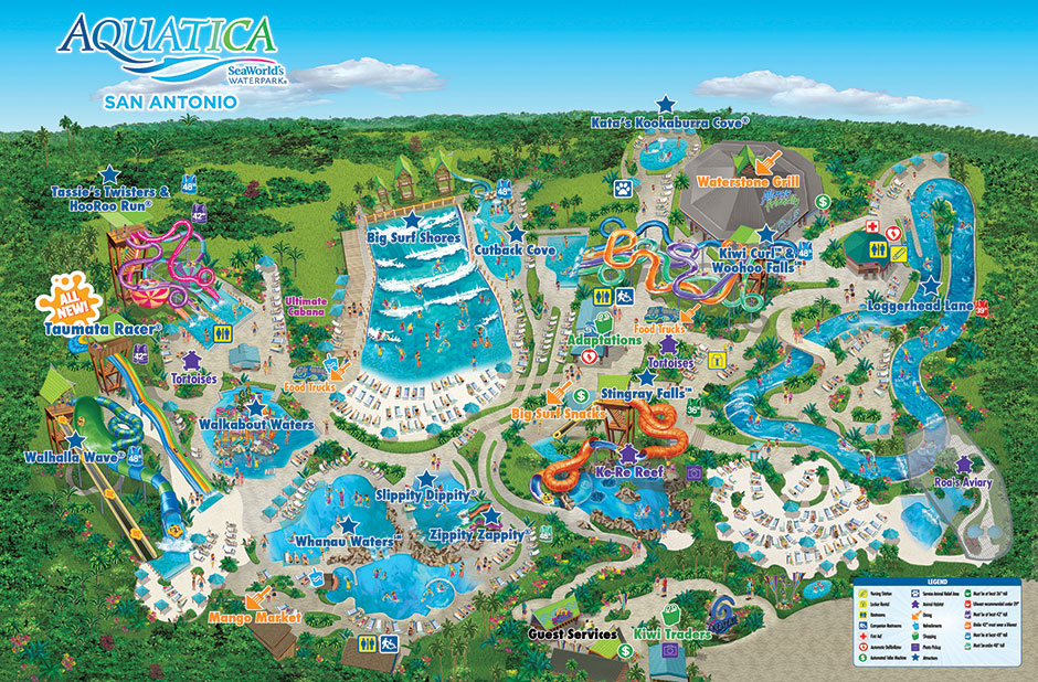 Buy Here Pay Here Orlando >> Park Map | Aquatica San Antonio