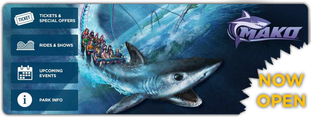 SeaWorld: Mako Now Open