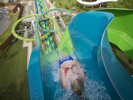 Vanish Point Drop Slide Water Country USA