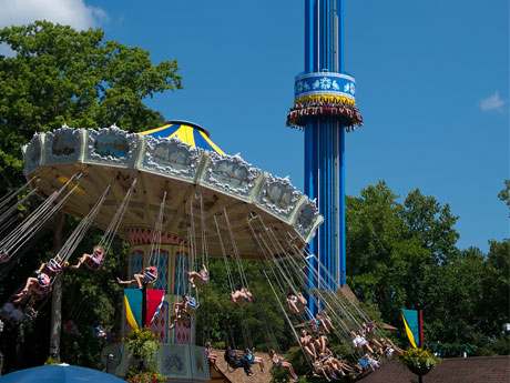 Mach Tower | Rides | Busch Gardens Williamsburg