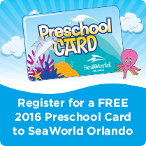 SeaWorld Orlando Preschool Pass